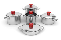 Cookware Photo libre de droits