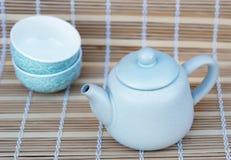 Cookware ajustado para o chá Imagem de Stock