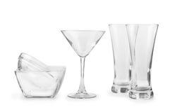 Cookware de cristal Foto de archivo libre de regalías