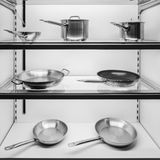 Cookware on display Stock Photography