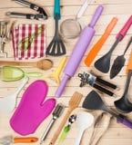Cookware e acessórios Fotos de Stock Royalty Free