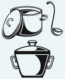 Cookware Royalty Free Stock Photography
