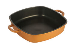 Cookware, nonstick pan Stock Afbeelding