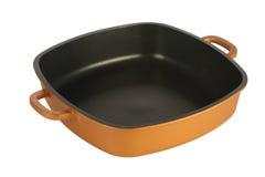 Cookware, nonstick Wanne Stockbild