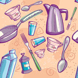 cookwareklotter Stock Illustrationer
