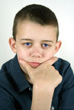 Cool. Smart and Serious Teen Boy royalty free stock photo