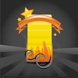 Cool abstract illustration with place for text Royalty Free Stock Photography