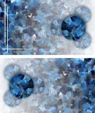 Cool abstract mosaic card-luxurious appearance. Copy space Royalty Free Stock Images