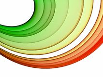 Cool abstract rainbow. Colorful cool abstract rainbow - abstract graphic Royalty Free Stock Image