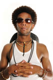 Cool african guy Stock Photography