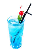 Cool alcoholic cocktail with a cherry. Refreshing drinks Royalty Free Stock Photography