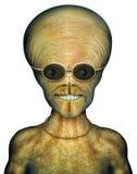 Cool Alien. Digital Illustration of an alien Stock Photos