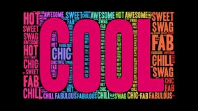 Cool animated word cloud