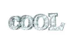 Cool as ice Royalty Free Stock Photos