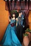 Cool asian couple Royalty Free Stock Photos