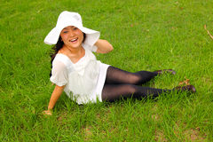 Cool Asian girl Stock Images