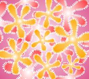 Cool Backgrounds Pink Yellow royalty free stock images