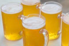 Cool beer in jug Royalty Free Stock Photo