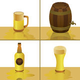 Cool Beer Vector Stock Images