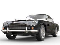Cool Black Vintage Car - Beauty Studio Shot Stock Images