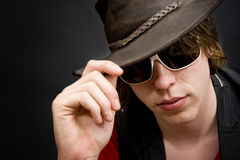 Cool bloke Stock Images