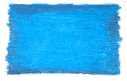 Cool Blue background. Self painted background in oil pastel royalty free stock photography