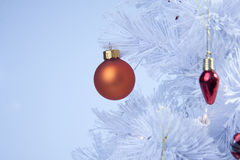 Cool blue christmas Stock Photos