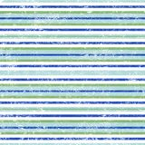 Cool blue and green stripes. Distressed cool blue, white and green plaid background Stock Photography