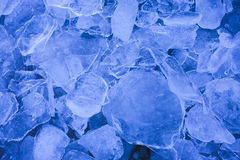 Cool blue ice sheets. Royalty Free Stock Images