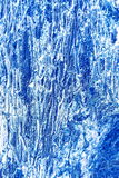 Cool blue metal surface texture Stock Images