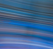 Cool Blue Motion Blur Stock Photo