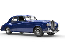 Really cool blue oldtimer car Stock Photography