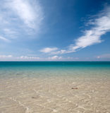 Cool blue sea water Royalty Free Stock Photo