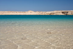 Cool blue sea water in Egypt Stock Photography