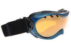 Cool blue ski goggles Royalty Free Stock Photography