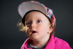 Cool boy with cap Stock Photography