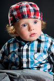Cool boy with cap Royalty Free Stock Photo