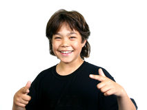 Cool boy (series) Royalty Free Stock Photography