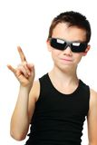 Cool boy Stock Photo