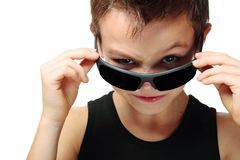 Cool boy Stock Photography