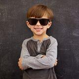 Cool boy in sunglasses Stock Photo