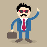 Cool Business Man Vector Royalty Free Stock Images