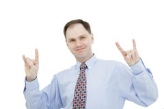 Cool businessman stock photos