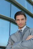 Cool businessman Stock Photo