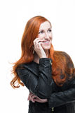 Cool businesswoman Royalty Free Stock Images