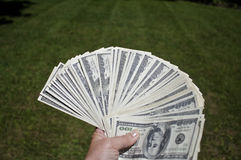 Cool cash Stock Images