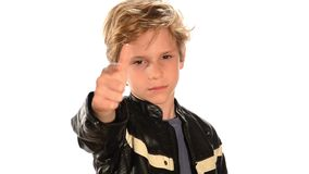 Cool child Royalty Free Stock Photography