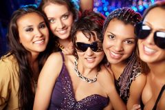 Cool clubbers Royalty Free Stock Images