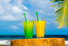 Cool Cocktails in summer time Stock Photo