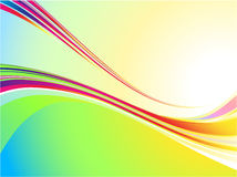 Cool color wave background Royalty Free Stock Photo